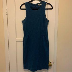 Madewell blue skater dress
